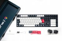 Ducky Channel One2 Tuxedo Black Cherry Switch DKON1808-AUKPDZZBX